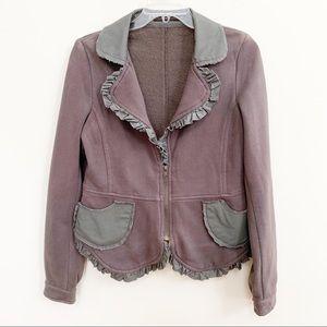 Hazel 100% Cotton Gray Jacket